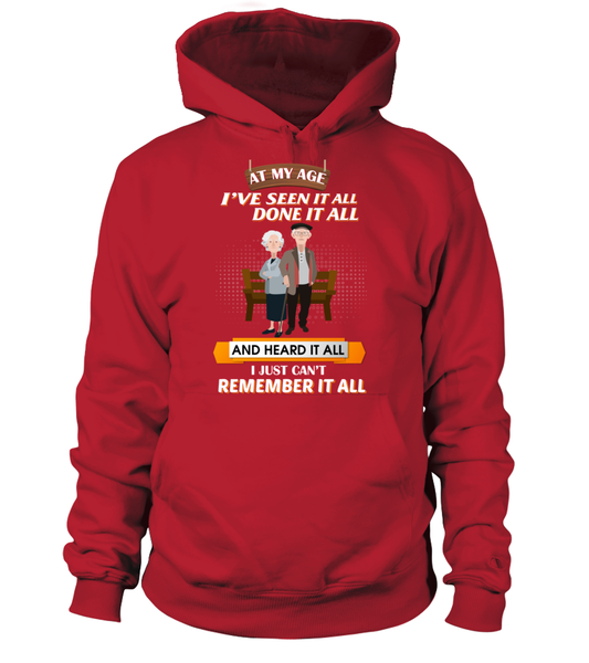 At My Age - I Just Can't Remember It All Shirt - Giggle Rich - 5