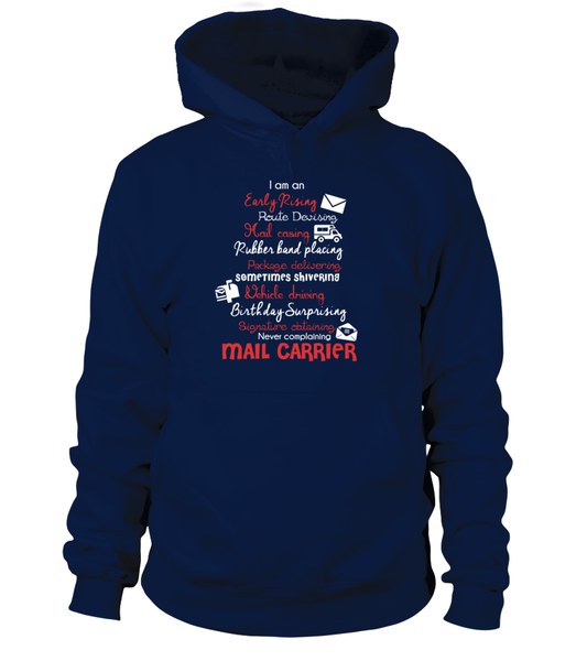 I Am An Early Rising Mail Carrier Shirt - Giggle Rich - 7