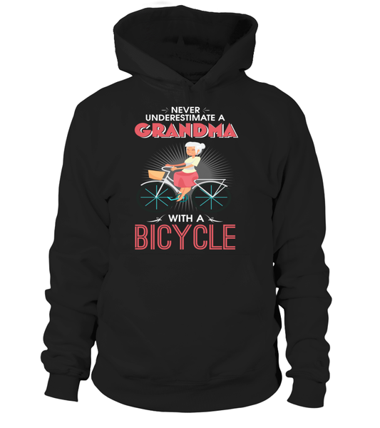 Never Underestimate A Grandma With A Bicycle