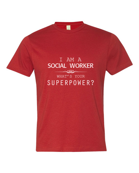 Social Worker's SuperPower Shirt - Giggle Rich - 4