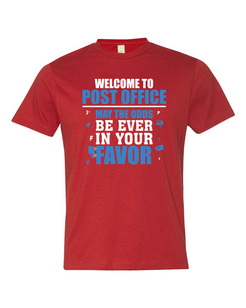 Welcome To Post Office - American Apparel Shirt - Giggle Rich - 2