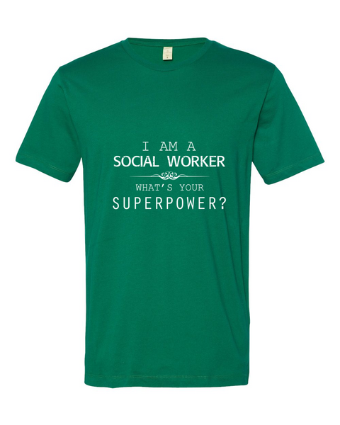 Social Worker's SuperPower Shirt - Giggle Rich - 3