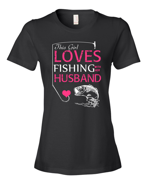 I Love Fishing With My Husband Shirt - Giggle Rich - 1