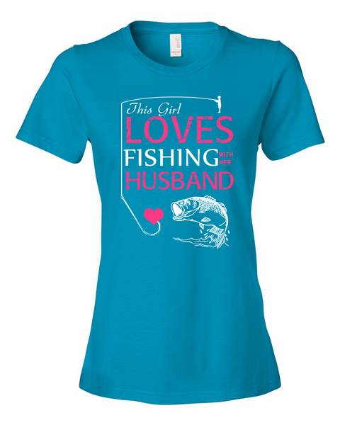 I Love Fishing With My Husband Shirt - Giggle Rich - 5