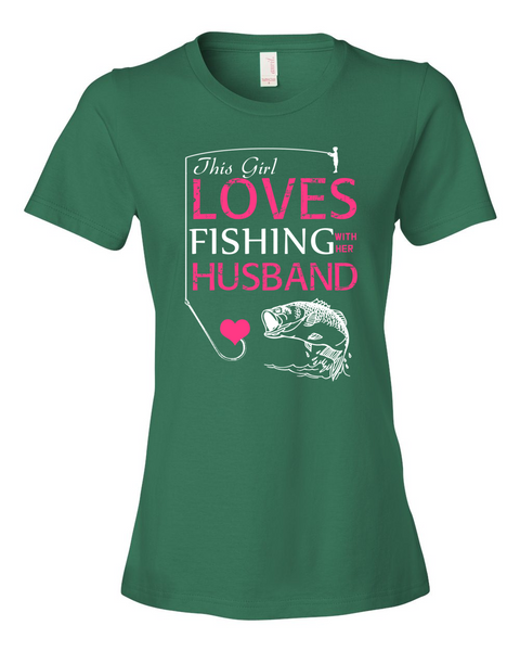 I Love Fishing With My Husband Shirt - Giggle Rich - 3