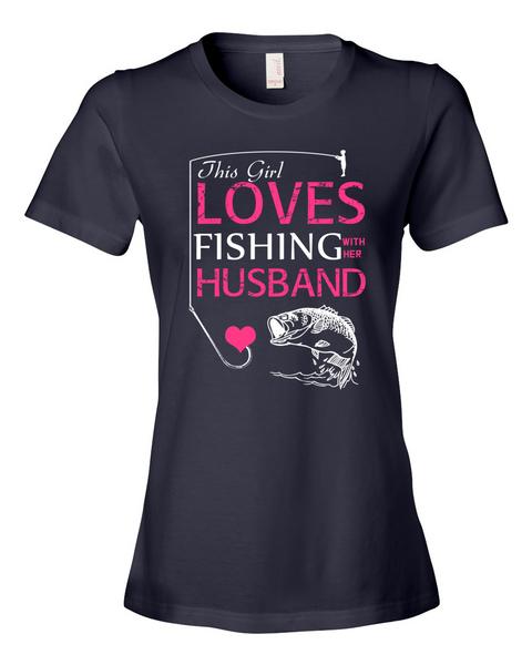 I Love Fishing With My Husband Shirt - Giggle Rich - 2