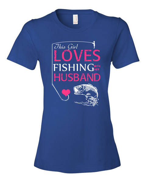 I Love Fishing With My Husband Shirt - Giggle Rich - 4