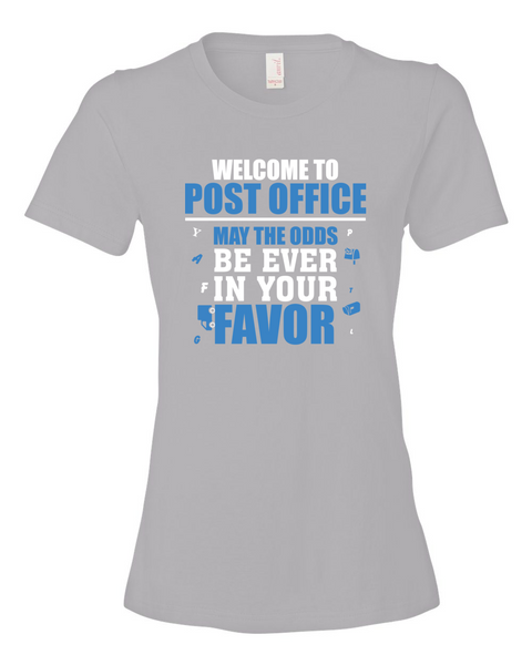Welcome To Post Office - American Apparel Shirt - Giggle Rich - 12