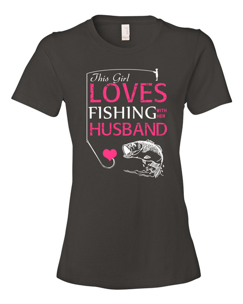 I Love Fishing With My Husband Shirt - Giggle Rich - 6