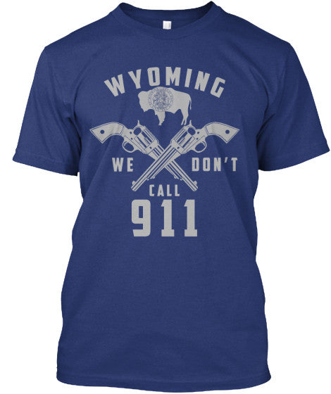 Proud Wyoming State Shirt - Giggle Rich - 14