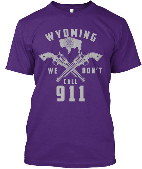 Proud Wyoming State Shirt - Giggle Rich - 3