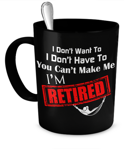 Retired Mug Coffee Mug - Giggle Rich - 1