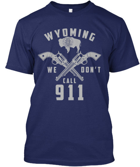 Proud Wyoming State Shirt - Giggle Rich - 7
