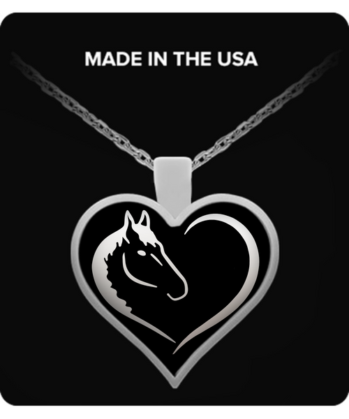 Horse Lovers Necklace Necklace - Giggle Rich