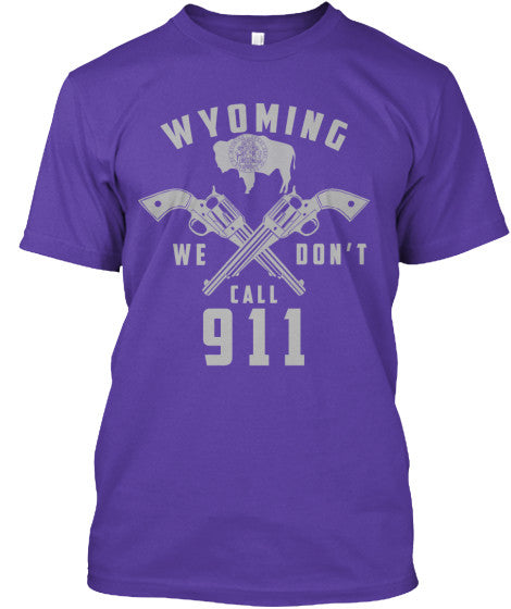 Proud Wyoming State Shirt - Giggle Rich - 8