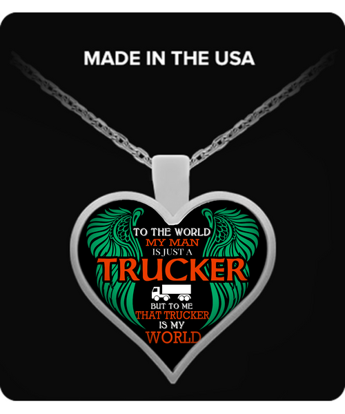 Trucker Wife Necklace - Giggle Rich