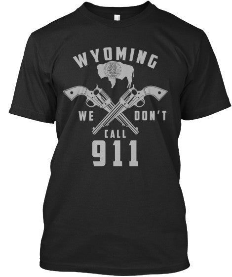 Proud Wyoming State Shirt - Giggle Rich - 13