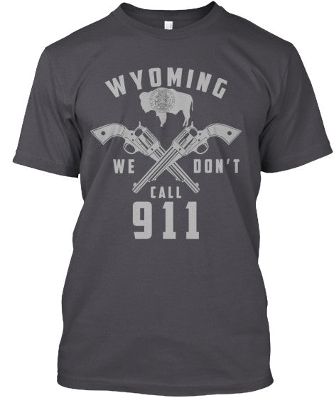 Proud Wyoming State Shirt - Giggle Rich - 5