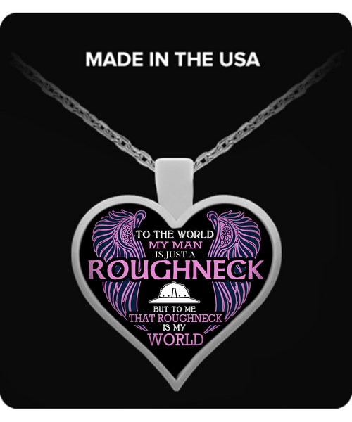 Roughneck Wife Necklace Necklace - Giggle Rich