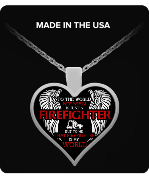 Firefighter Wife Necklace - Giggle Rich