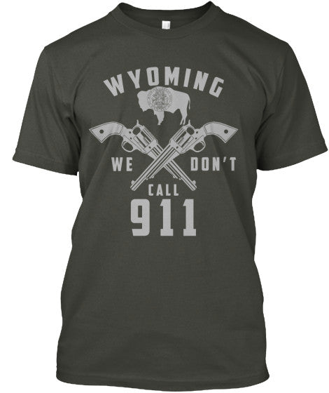 Proud Wyoming State Shirt - Giggle Rich - 2