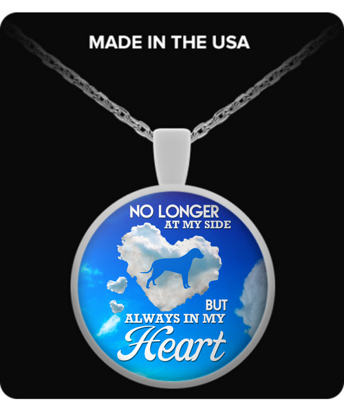 No Longer At My Side - Dog Lovers Necklace Necklace - Giggle Rich