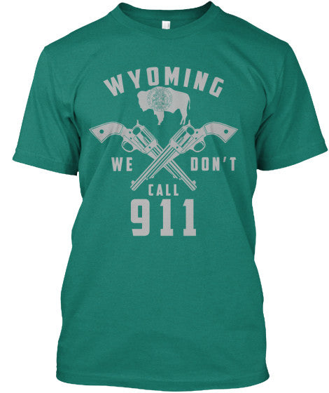 Proud Wyoming State Shirt - Giggle Rich - 12