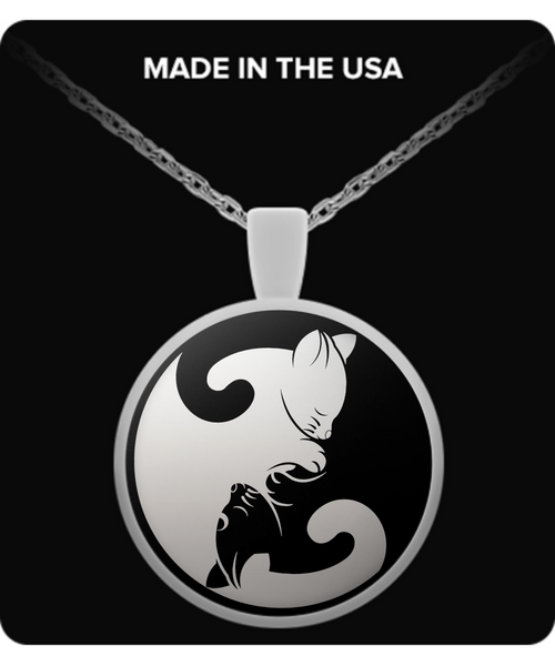 Cat Logo For Cat Lovers Necklace - Giggle Rich