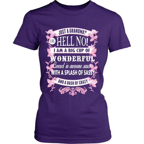 I'm Not Just A Grandma Shirt - Giggle Rich - 3