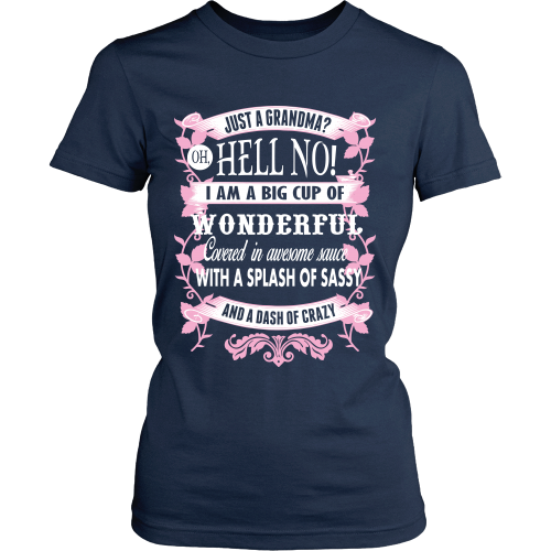 I'm Not Just A Grandma Shirt - Giggle Rich - 4