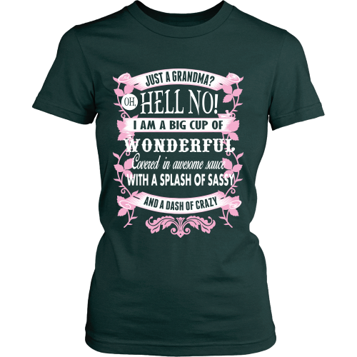I'm Not Just A Grandma Shirt - Giggle Rich - 5