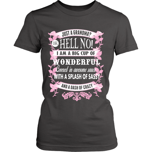 I'm Not Just A Grandma Shirt - Giggle Rich - 6