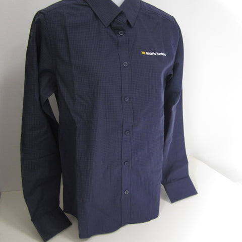 Ladies' Business Shirt from Ontario Northland, navy/carbon