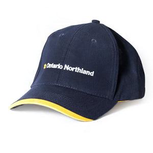 Hat, navy with yellow tip from Ontario Northland