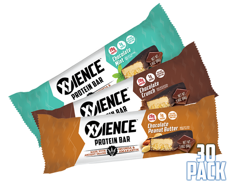 XYIENCE 20g Protein Bar 30 Pack