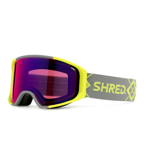 SHRED SIMPLIFY+ Bigshow Yellow Goggle