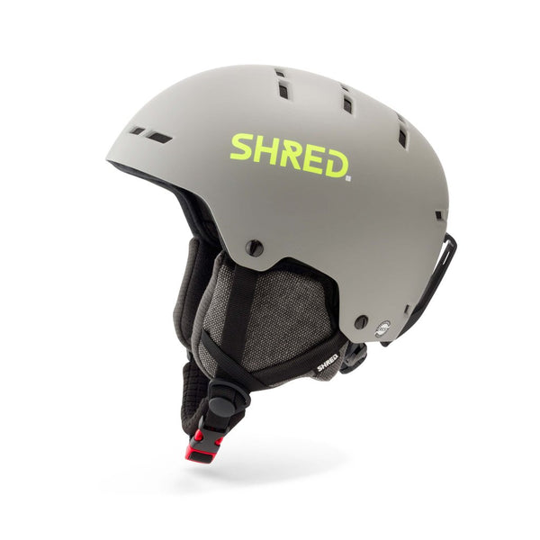 SHRED Totality NoShock Helmet - Grey/Yellow