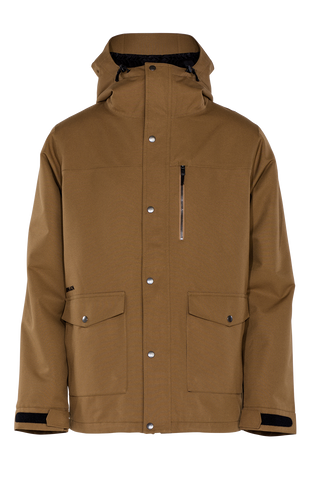 Armada NORWOOD Insulated Ski Jacket 2016 - Brown