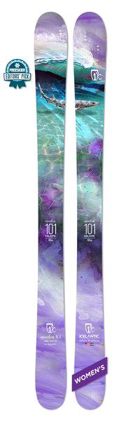 Icelantic MAIDEN 101 Ski 2020 - Womens