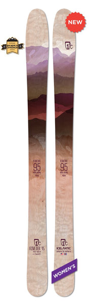Icelantic RIVETER 95 Ski 2020 - Womens