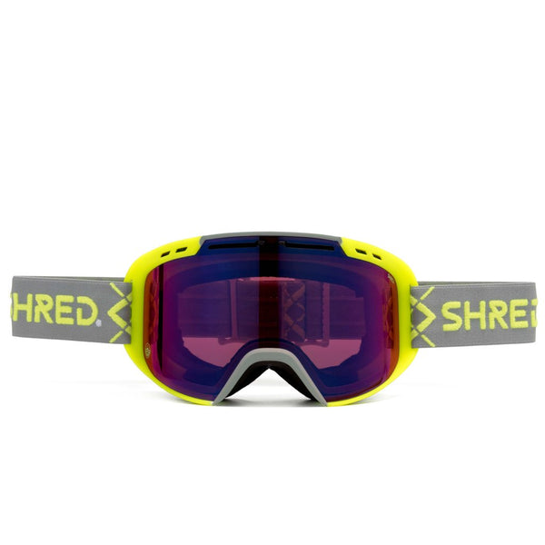 SHRED AMAZIFY BIGSHOW Yellow - CBL BLAST MIRROR Goggles