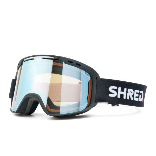 SHRED AMAZIFY Black - CBL SKY MIRROR Goggles