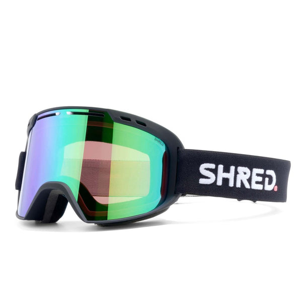 SHRED AMAZIFY Black - CBL PLASMA MIRROR Goggles