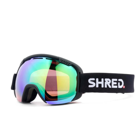 SHRED SMARTEFY Black - CBL PLASMA MIRROR Goggles