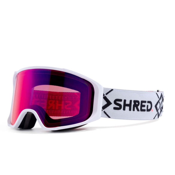 SHRED SIMPLIFY+ Bigshow White Goggle