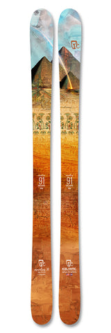 Icelantic MAIDEN 91 Ski 2021 - Womens