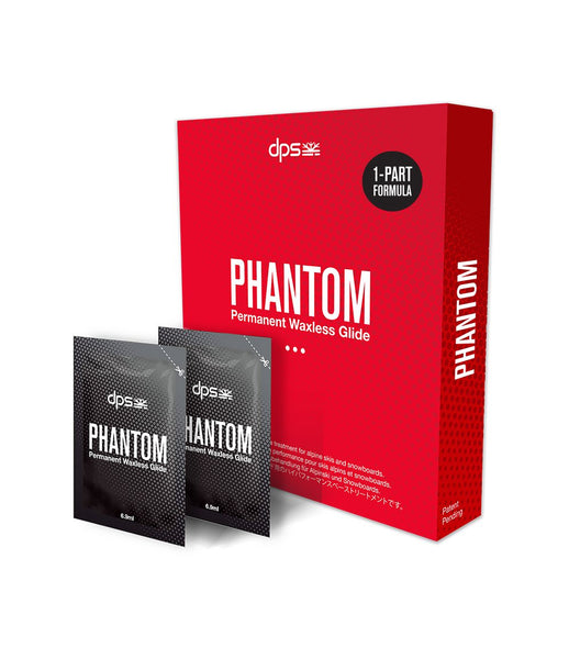 DPS PHANTOM - Permanent Waxless Base Glide Treatment (Newest 1 Part Formula)