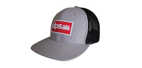 DPS Grage Patch Hat - Gray/Black