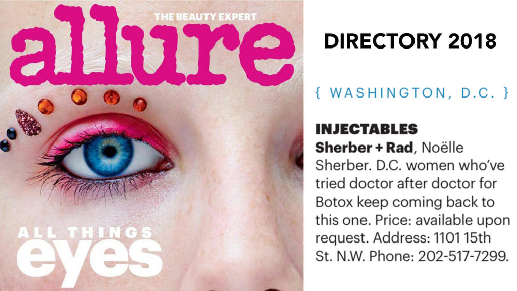 Allure Names Dr. Sherber D.C.'s Best for Injectables
