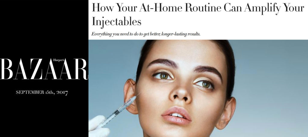 Dr. Sherber Quoted in Harper's Bazaar